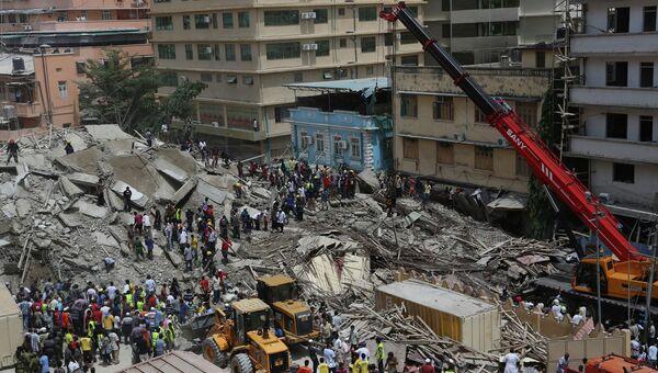 Обрушение здания в Танзании