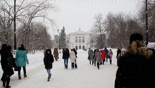 Томский государственный университет, главный корпус