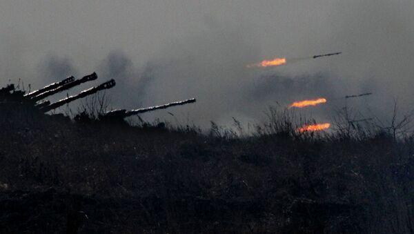 Учения ракетных и артиллерийских подразделений, архивное фото