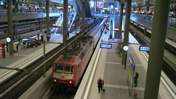 Центральный железнодорожный вокзал Берлина