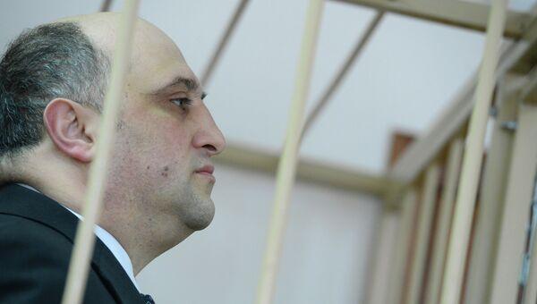 Избрание меры пресечения в суде А.Шалмуеву по Дорожному делу. Архивное фото