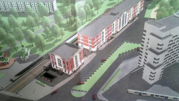 Проект вокзала в Сестрорецке
