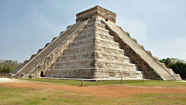 Храм Кукулькана в Чичен-Ица