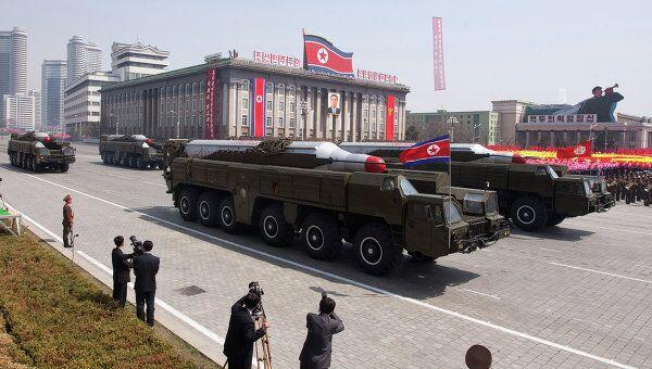 Парад в Пхеньяне. Архивное фото
