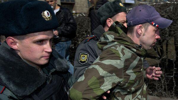 Акция День русского гнева в Москве