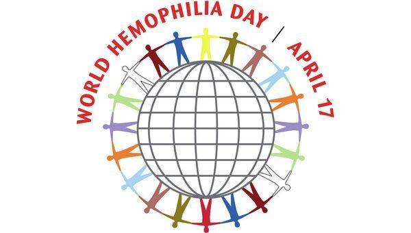 Логотип Всемирного дня гемофилии