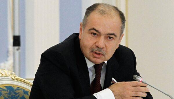 Вице-спикер Совфеда, сенатор от Дагестана Ильяс Умаханов