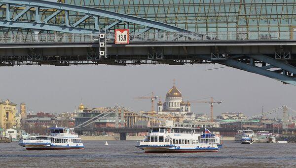 На Москве-реке. Архив