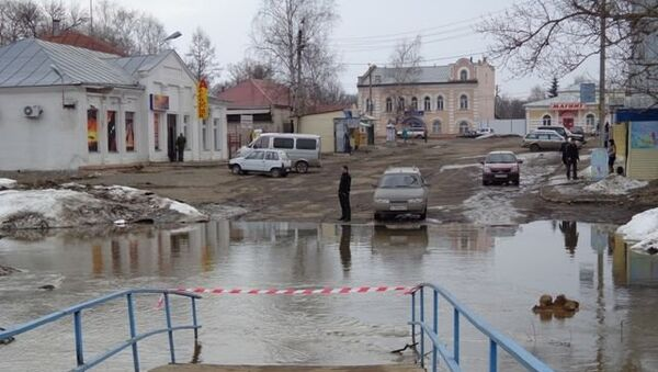Эвакуация жителей объявлена в городе Нерехта Костромской области