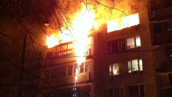 Взрыв в одной из квартир жилого дома по улице Широкая на северо-востоке Москвы