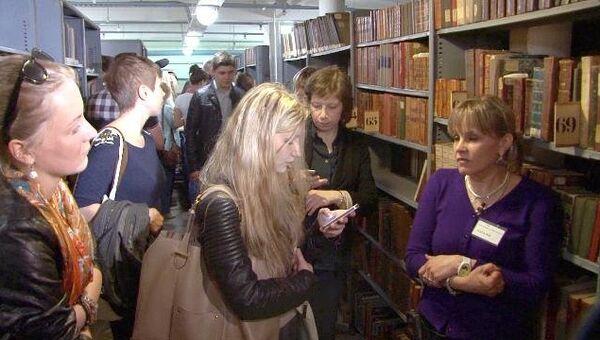 Библионочь в Ленинке, или Где хранятся диссертации Путина и Медведева