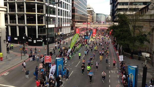 Международный марафон в Лондоне. Архивное фото
