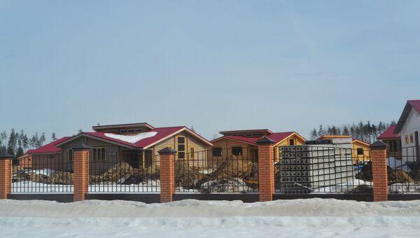 Дома для участников программы реабилитационного центра