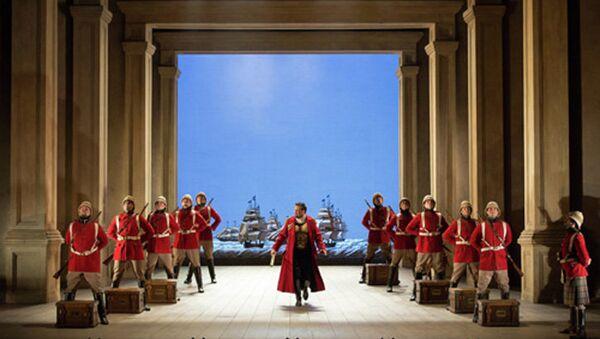 Опера Юлий Цезарь театра Метрополитен-опера в рамках проекта The Met: Live in HD