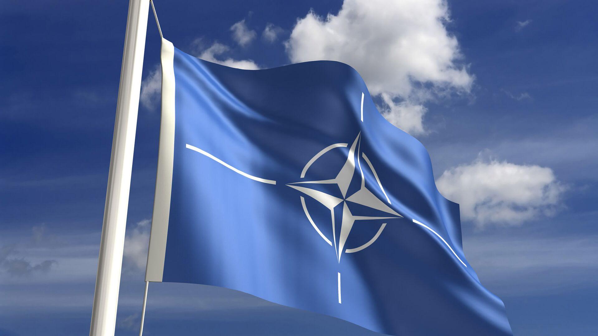 Флаг НАТО - РИА Новости, 1920, 11.06.2021