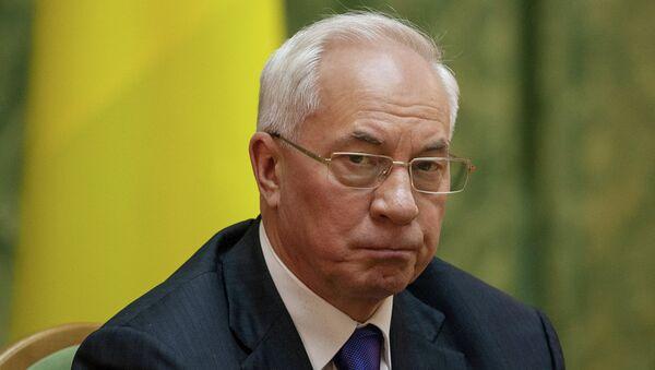 Премьер-министр Украины Николай Азаров. Архивное фото