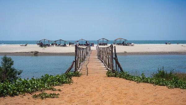 Пляж Мандрем на севере штата ГОА, Индия