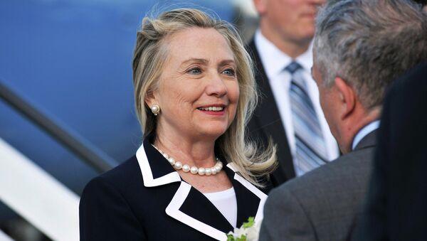Хиллари Клинтон. Архивное фото.