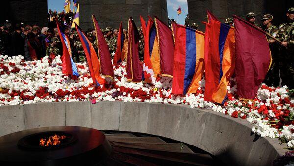 День памяти жертв геноцида в Армении. Архивное фото