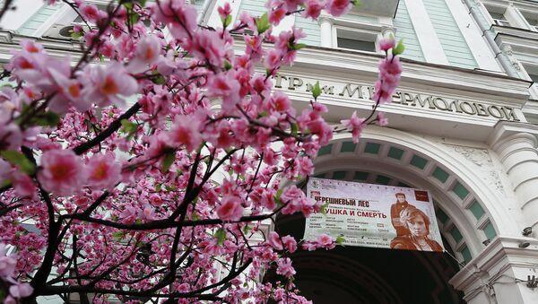Вход в театр имени Ермоловой. Архивное фото