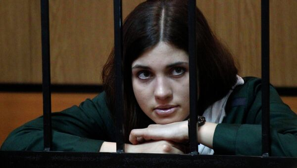 Участница панк-группы Pussy Riot Надежда Толоконникова, архивное фото