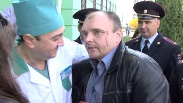 Раненый при задержании Помазуна полицейский о самочувствии после выписки