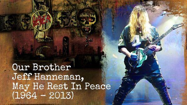 Основатель и гитарист группы Slayer Джефф Ханнеман скончался в возрасте 49 лет