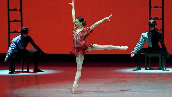Диана Вишнева на открытии Новой сцены Мариинского театра