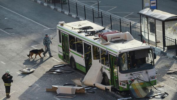 Взрыв газа в рейсовом автобусе на севере Москвы. Архив