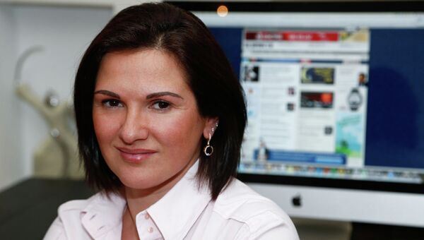 Директор российского представительства Google Юлия Соловьева