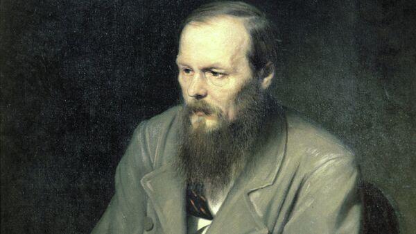 Репродукция картины Портрет Ф. М. Достоевского. Архивное фото