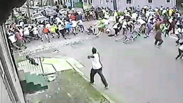 Стрельба на параде в Новом Орлеане