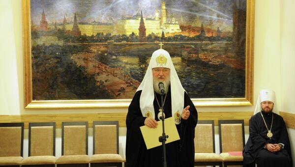 Продолжается визит патриарха Кирилла в Китай