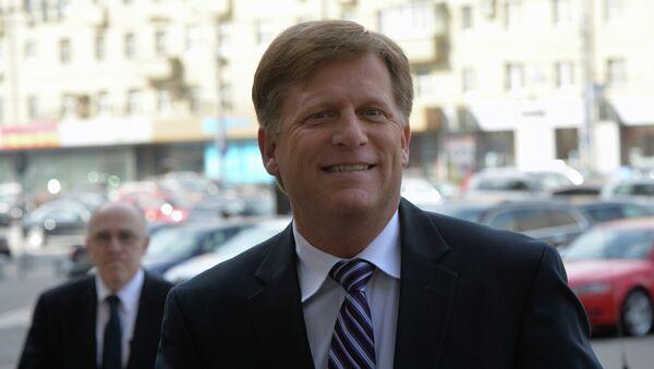 Посол США в России Майкл Макфол. Архивное фото