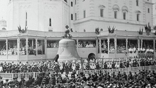 Торжества, посвященные коронации императора Николая II в Москве