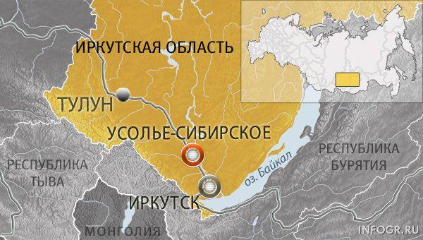 Город Усолье-Сибирское, Иркутская область