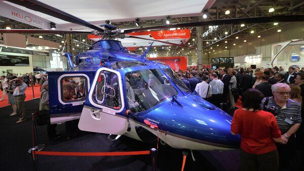 Двухмоторный многоцелевой вертолет AgustaWestland AW139. Архивное фото