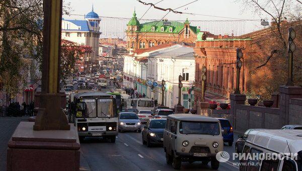 Проспект Ленина в Томске. Архив