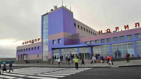 Аэропорт Норильск. Архивное фото