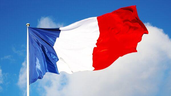 Флаг Франции. Архивное фото
