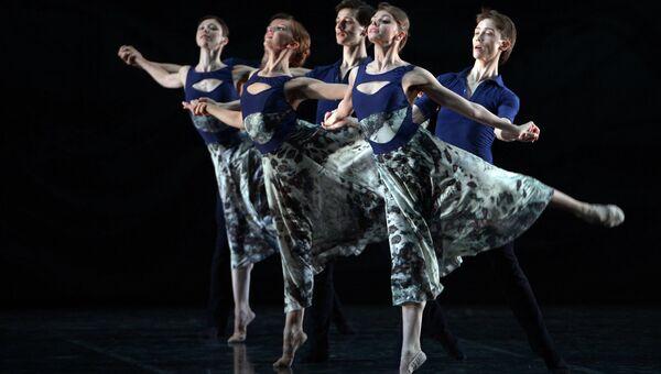 Генеральная репетиция балета Начо Дуато в Михайловском театре