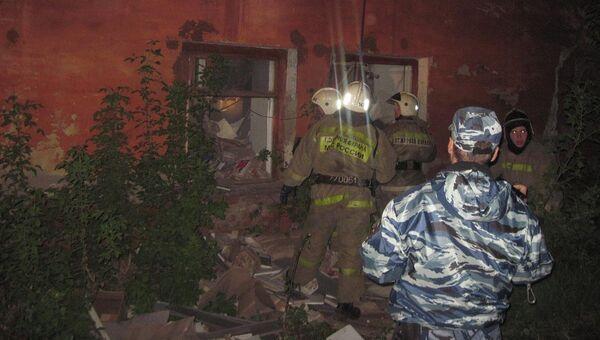 Обрушение здания в Кунгуре