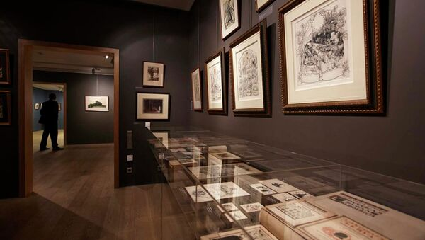 Выставка 100 работ Александра Бенуа в галерее Наши художники