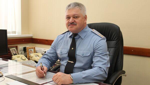 Начальник Пограничного управления ФСБ России по Приморскому краю генерал-лейтенант Николай Гусев