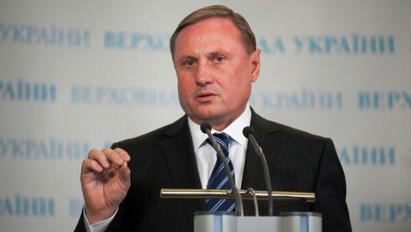 Лидер парламентской фракции правящей Партии регионов Александр Ефремов. Архив