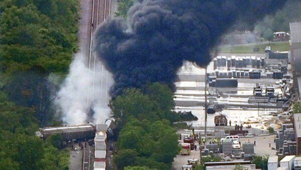 Железнодорожная авария в Балтиморе