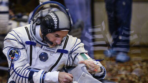 Итальянский астронавт Лука Пармитано. Архивное фото