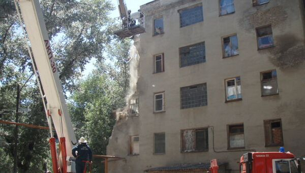 Обрушение части общежития в Новочеркасске