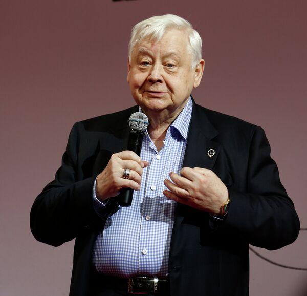 Олег Табаков на вручении премии Олега Янковского Творческое открытие 2012-2013