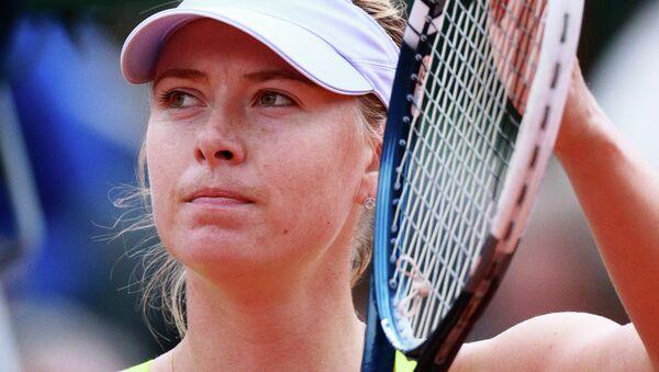 Российская теннисистка Мария Шарапова. Архивное фото.
